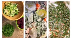 crunchy vegetables